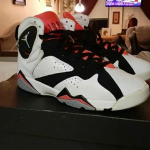 "Jordan 7 Retro GS ""Hot Lava"" Size 8Y"